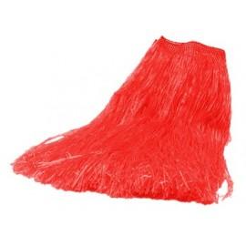 Falda Hawaiana Color Rojo
