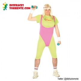 Disfraz fitness gimnasio