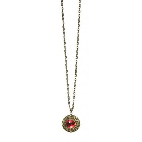 Colgante Medallon Piedra