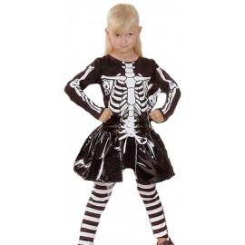 Disfraz Esqueleto niña(2-4 años)