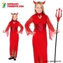 Disfraz Diablesa niña