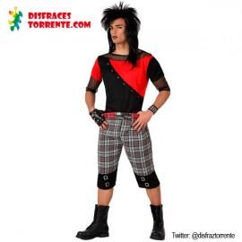 Disfraz de Punky para Hombre