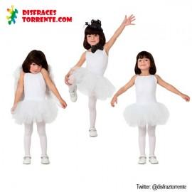 Disfraz de Bailarina blanco niñas