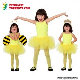 Disfraz de Bailarina Amarillo niñas
