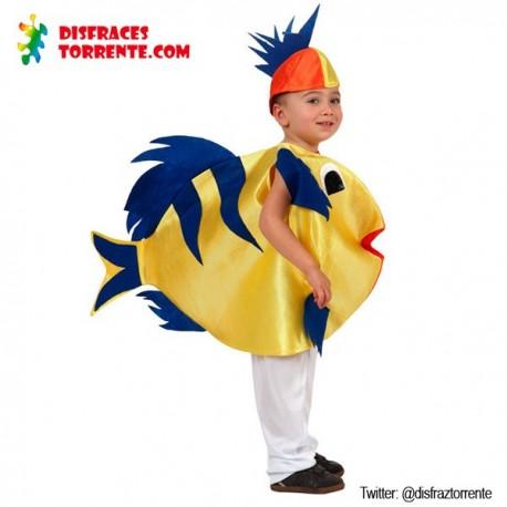 Disfraz de Pez Amarillo - Disfraces Torrente