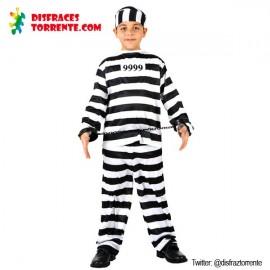 Disfraz preso carcel