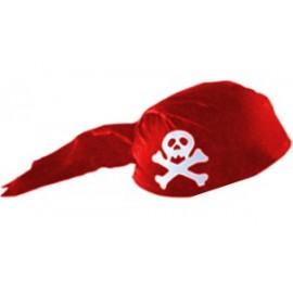 Casco Pirata Rojo