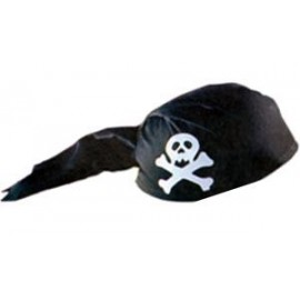 Casco Pirata Negro