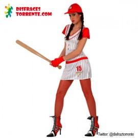 Disfraz Jugadora de Beisbol