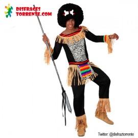 Disfraz de Zulú Africano chico