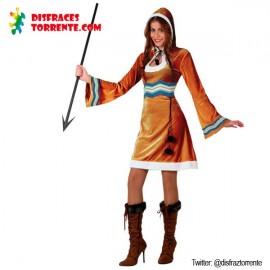 Disfraz de esquimal chica
