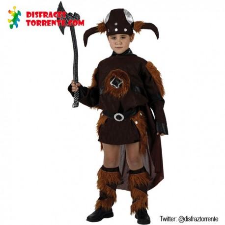 Disfraz de Vikingo carnavales niño