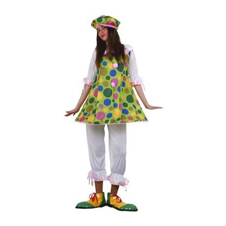 Disfraz Payasa fiesta