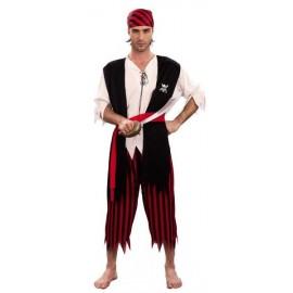 Disfraz de Pirata Adulto Económico