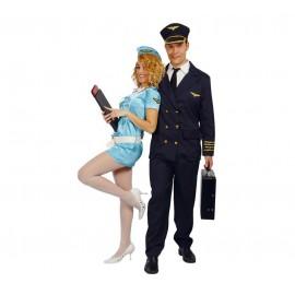 Disfraz Piloto Capitan Aviación