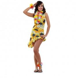 Disfraz de Hawaiana Adulto.