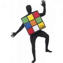 Disfraz de Cubo de Rubick Adulto