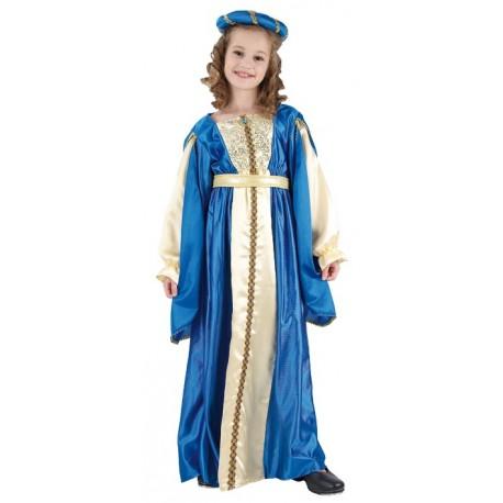 Disfraz Princesa Medieval niñas