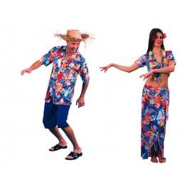 Disfraces de Hawaianos (Pareja)