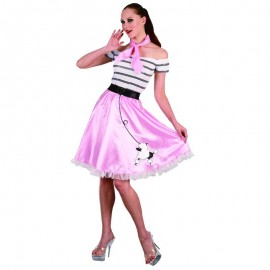 Disfraz chica época años 50