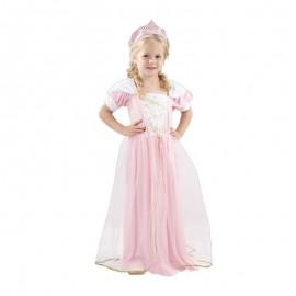 Disfraz de Princesa Rosa 2-4 años