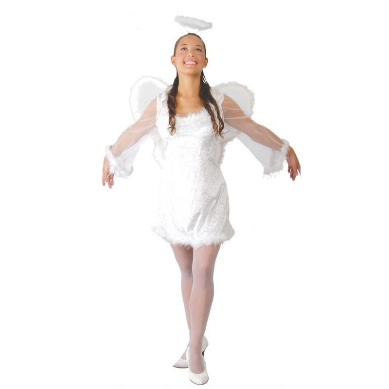 Disfraz de ngel para mujer env o garantizado 48h - Disfraz de navidad para bebes ...