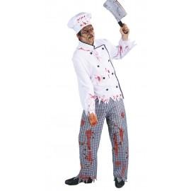 Disfraz de Cocinero Zombie Adulto