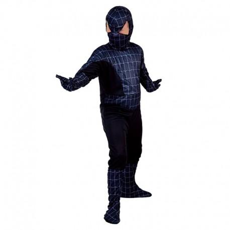 Disfraz Spiderman Negro infantil