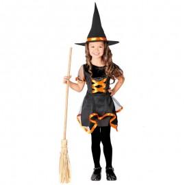 Disfraz bruja brujita halloween