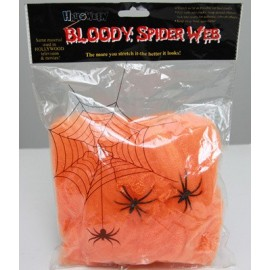 Tela de Araña Naranja