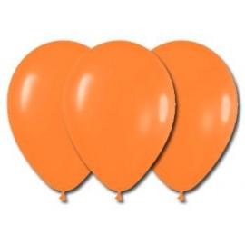 Globos Color Naranja 100 Unidades