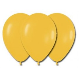 Globos Color Amarillo 100 Unidades