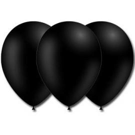 Globos Color Negro 50 unidades Profesional