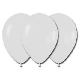 Globos Color Blanco 100 Unidades