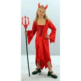 Disfraz de Vampiresa Demonia niña