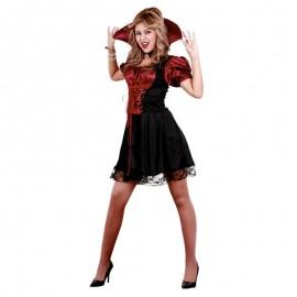 Disfraz de Vampiresa Misteriosa.