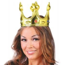 Corona de Rey o Reina Color Oro
