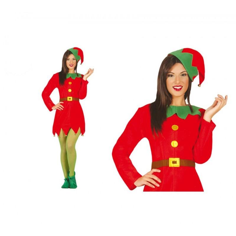 Disfraz de elfa mujer env o garantizado 48h - Disfraces para navidad ...
