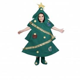 Disfraz Arbol Navidad Niños