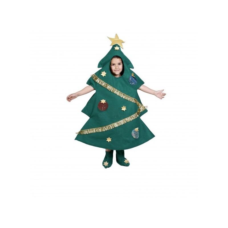 Disfraz arbol navidad ni os env o garantizado 48h - Arbol de navidad para ninos ...