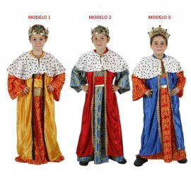Disfraz de Rey Mago Infantil.