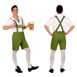 Disfraz Alemán Tirolés Oktoberfest M-L