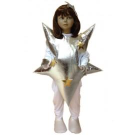 Disfraz de Estrella Plata Infantil