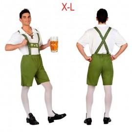 Disfraz XL Alemán Tirolés Oktoberfest