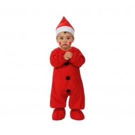 Disfraz de Papa Noel Bebe (De 0 a 6 meses)