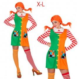 Disfraz de Pipi Traviesa XL