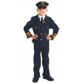Disfraz de Piloto Comandante de Aviación