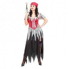 Disfraz de Pirata Corsaria Adulto.