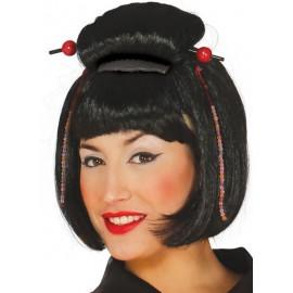 Peluca china geisha