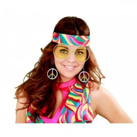 Gafas Hippie con símbolo paz